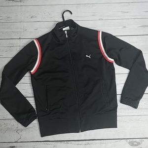 Puma track jacket sweater zipper